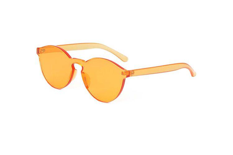 Γυαλιά ηλίου διαφανή frameless κίτρινα Beachwear, Γυαλιά Ηλίου 2 96